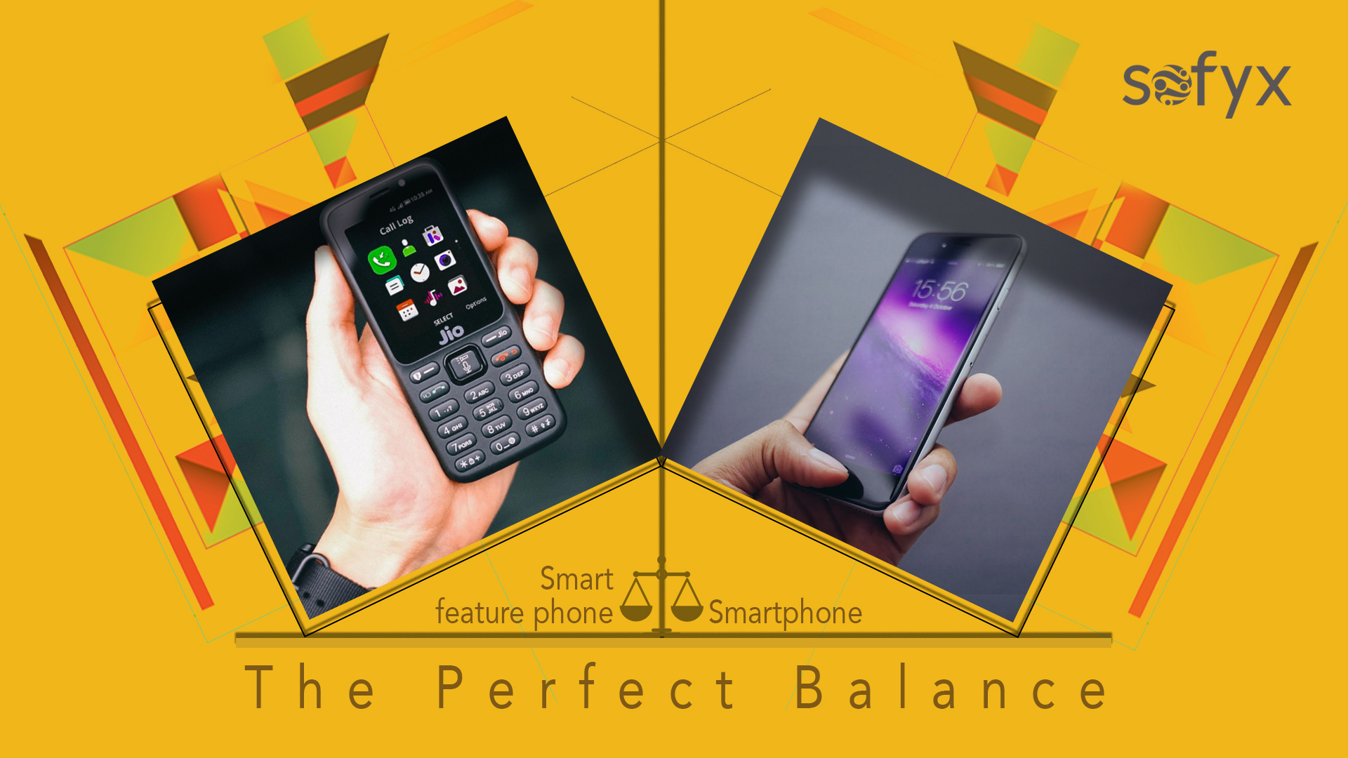 Era of smart feature phones
