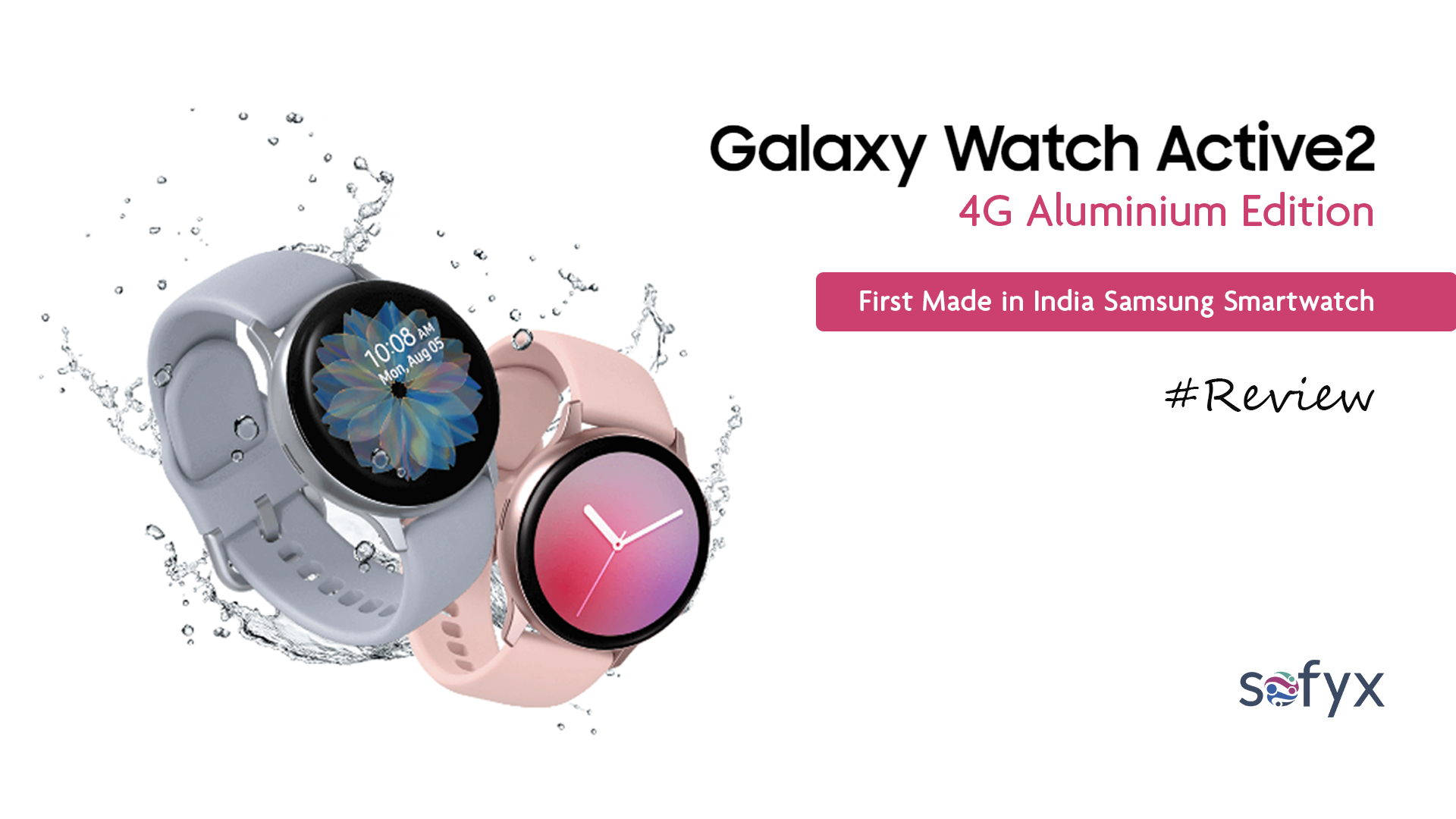 A review of Samsung's first Made in India watch – Galaxy Watch Active2 4G Aluminium